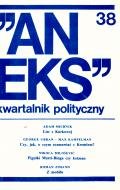 """Aneks"" 38, 1985"