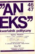 """Aneks"" 46–47, 1987"