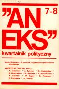 """Aneks"" 7-8, 1974"