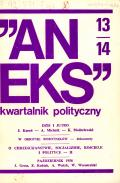 """Aneks"" 13–14, 1977"